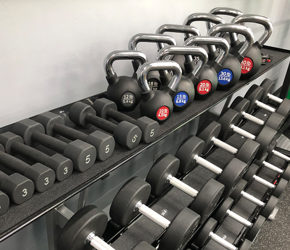 Sister Bay Athletic Club- Weight Rack