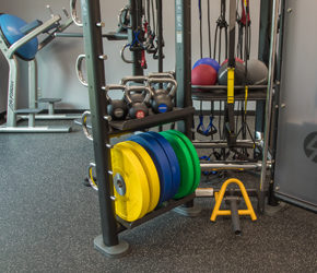 Sister Bay Athletic Club- weights