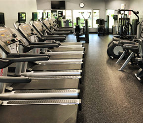Sister Bay Athletic Club- treadmills